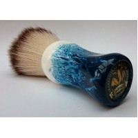 C4 Shaving Brush Blue-White 26mm Silvertip