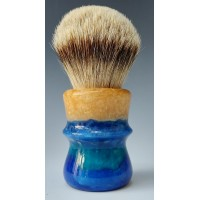 Silvertip Badger 26mm shaving brush sandy blue