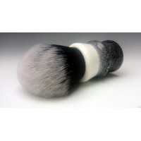 30mm Tuxedo shaving brush with Black and White
