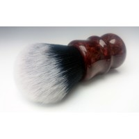 30mm Tuxedo shaving brush with Bronze and Copper colour