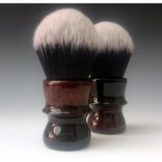 30mm Tuxedo shaving brush with Black and Copper