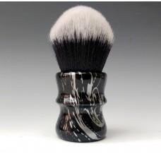 30mm Tuxedo shaving brush - Silver Floral