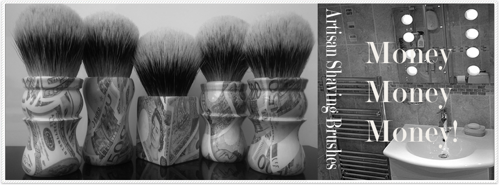 money shaving brushes