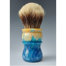 Finest Badger 27mm shaving brush sandy blue