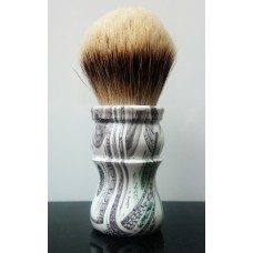 $100 High Mountain White Shaving Brush