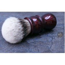 L7-shaving-brush-red-carbon-26mm-finest-badger TGN
