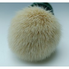 Cashmere shaving brush with Malachite Green Pearl