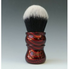 L7 shaving brush Red Carbon effect