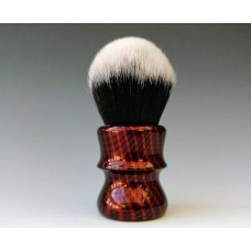 M55 shaving brush Red Carbon effect
