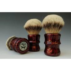 red carbon-shaving-brush